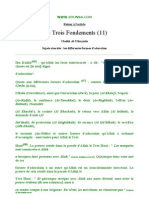Les trois fondements n°11 (cheikh Mohammed Ibn Salih Al-Outhaymin)
