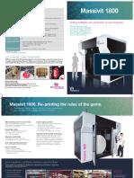 Massivit 1800 Brochure May 2016