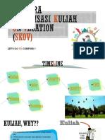 Imabara Sosialisasi Kuliah on Vacation