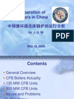 [Keynote]Upon Operation of CFB Boilers in China[Mr.jianhua MI]