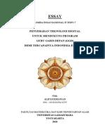PENYEBARAN TEKNOLOGI DIGITAL UNTUK MENDUKUNG PROGRAM GURU GARIS DEPAN (GGD) DEMI TERCAPAINYA INDONESIA EMAS 2045 - ALIF KURNIAWAN.pdf