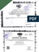 Akreditasi Universitas Kristen Indonesia Paulus Makassar