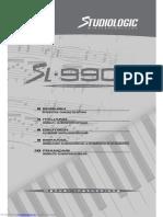 Studiologic SL-900 XP manual (PDF)