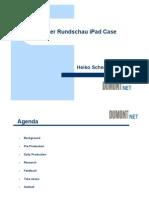 Frankfurter Rundschau iPad Case