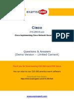 Prepare 210-260 Cisco CCNA Security Exam to Get Certification