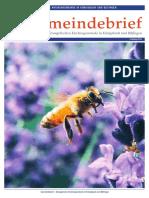 Gemeindebrief 2018 04 Frühling - 22. Ausgabe