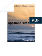 The Apostostolic Fathers