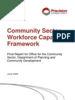 Community Services Capability Framework