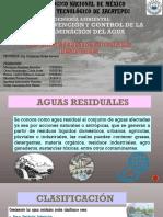 3.1 Características de Aguas Residuales
