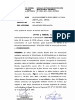 Declaran improcedente pedido de Carlos Boloña para no pagar reparación civil
