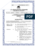 Balochistan Civil Servants Seniority Rules 2008