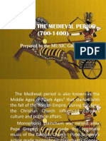 Music of the Medieval Period (700-1400) [Autosaved]