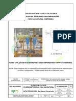 Et Ctg Filtro Coalescente Descompresoras Gas