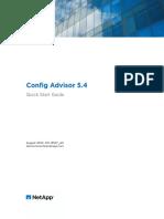 Config Advisor 5.4 Quick Start Guide