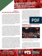 El ascenso de Bolsonaro en Brasil