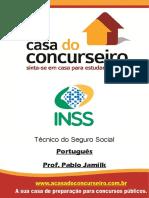 Apostila Inss 2016 Portugues Pablo Jamilk