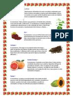 Plantas Alimenticias y Industriales