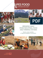 BREAKING AWAY FROM INDUSTRIAL FOOD AND FARMING SYSTEMS