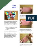 Como Hacer Cubos de Papel de Colores