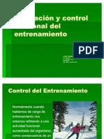 Evaluación y control funcional del entrenamiento