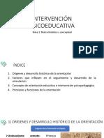 Tema 1 - Intervención Psicoeducativa