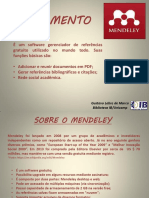 Apostila Mendeley