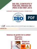 GESTION DEL RIESGO  EN ISO 9001_2015 MAYO 9 2017.pdf