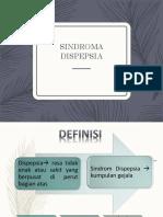 Diskusi Topik Sindrom Dispepsia