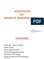 Design of Sanitation System