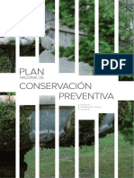 Plan Nacional de Conservacion Preventiva