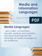 Media and Languages