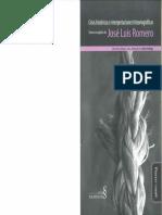 Las concepciones historiográficas y las crisis - José Luis Romero
