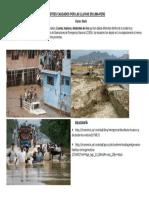 Desastres Causados Por Las Lluvias en Lima