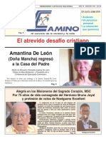 Semanario Católico Camino 5.08.2018