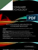 Consumer Psychology