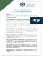 Jornada de Trabajo en El Perú