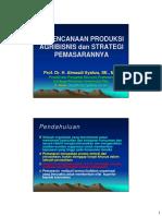 Perencanaan Produksi Dan Strategi Pemasaran