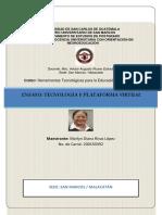 Ensayo Plataforma Virtual y Sistemas Operativos