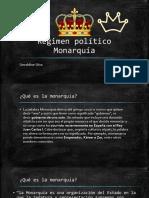 Régimen político Monarquía