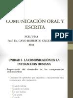 Comunicación Oral y Escrita_2018