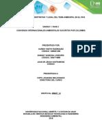 Unidad 1- Fase 2. Convenios Internacionales Ambientales Suscritos Por Colombia.
