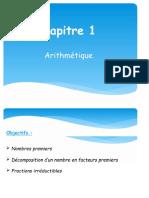 3eme 2018 2019 cours  arithmetique