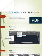 IMPORTACION DE PUNTOS - AUTOCAD CIVIL 3D