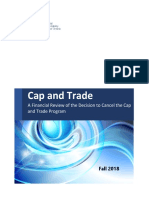 FAO's analysis on cap-and-trade cost
