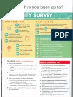 Creativity Survey