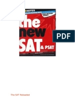 (G) SparkNotes Guide to the new SAT & PSAT (SparkNotes Test Prep)  {Crouch88}