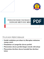 Responsi-pengukuran Ukuran Partikel Dengan Metode Mikroskopi