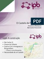 Trabalho Livre - Bernardo Klosowski - Castelo de Pierrefonds