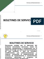 BOLETINES DE SERVICIO