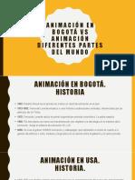 Cuadro Comparativo - Animación Digital en Colombia y en el resto del mundo